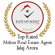 Jalaj Arora, Top Rated Milton Real Estate Agent